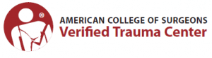 American College of Surgeons Verified Trauma Center logo