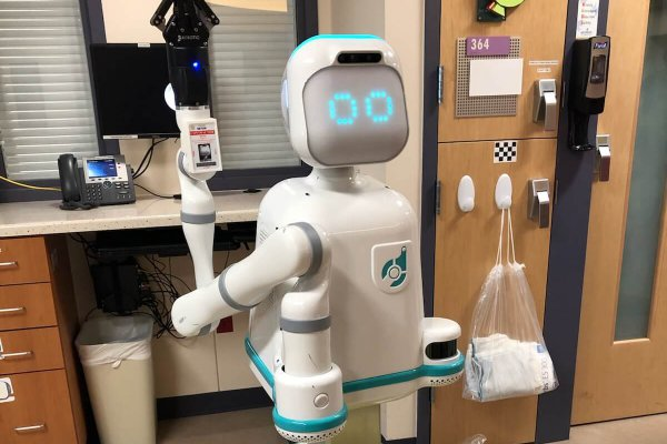 Image for Meet Moxi the Hospital Robot Assistant