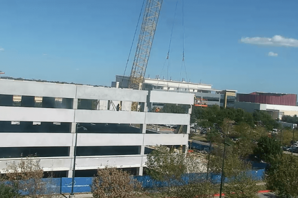 Image for Dell Children's Pediatric Ambulatory Center of Excellence Garage #1 Construction Live Feed
