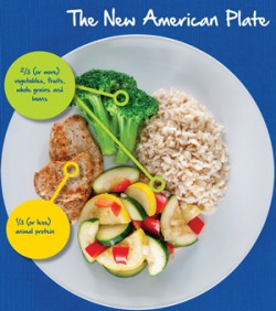 the new american plate